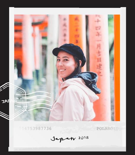 polaroid foto japan