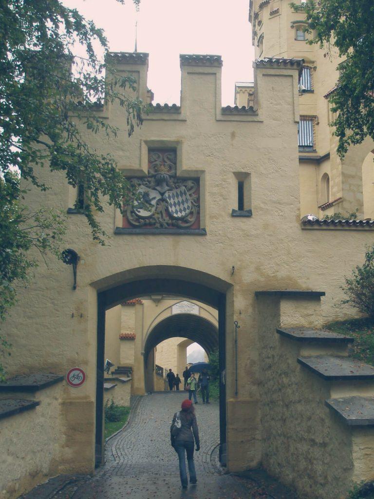 Schloss neuschannstein bezoeken ingang