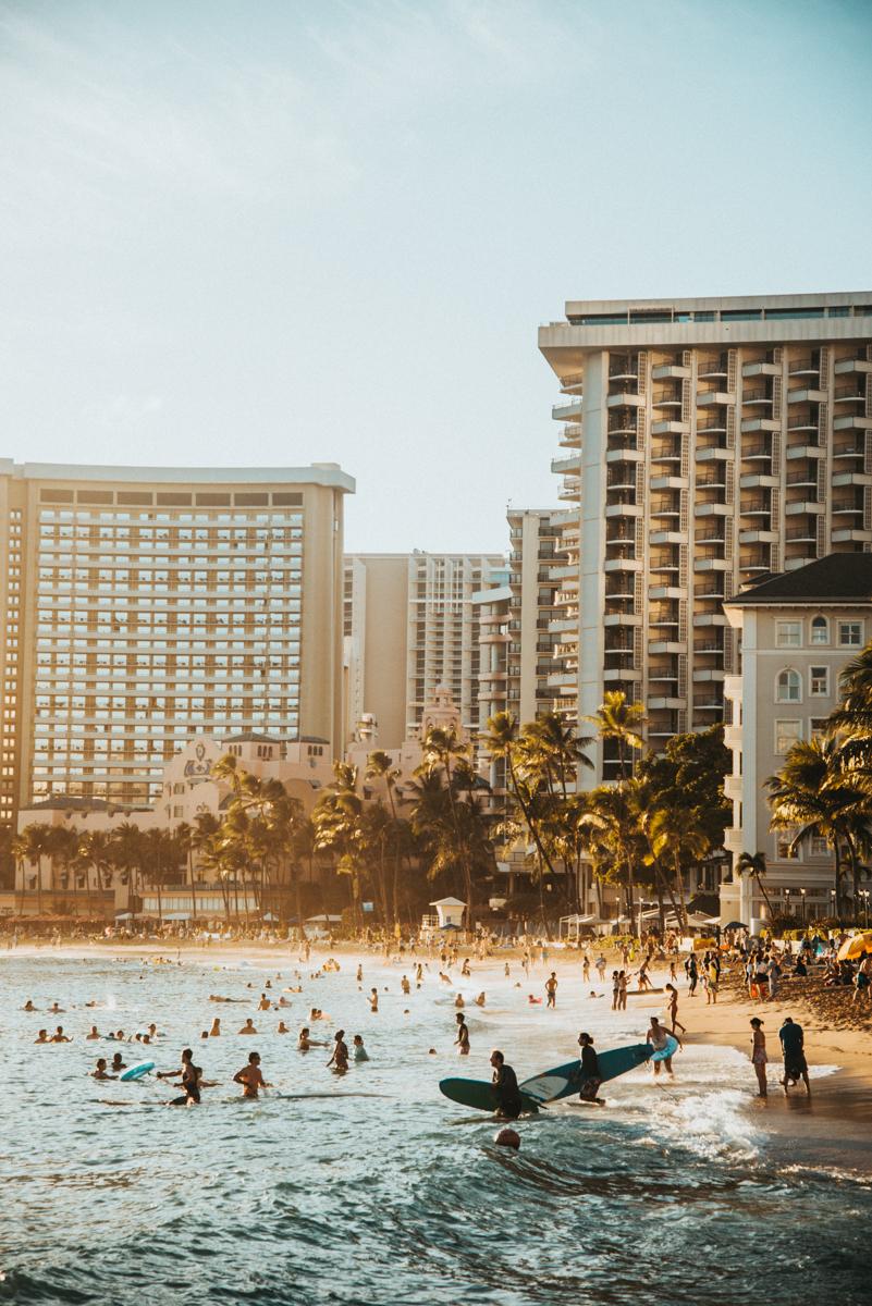 Surfen Hawaii
