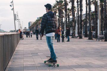 longboarden boulevard Barcelona