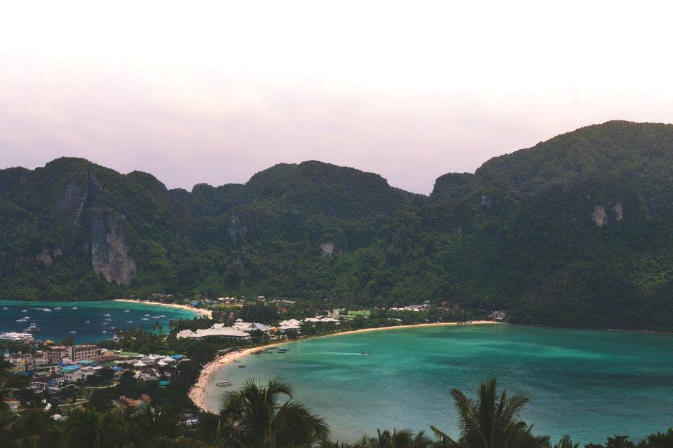 Uitzicht over Koh Phi Phi