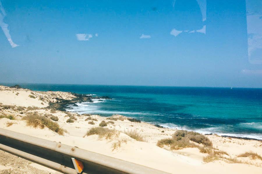 Fuertventura surfstrand
