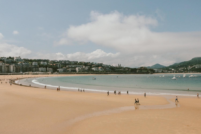 strand san sebastian