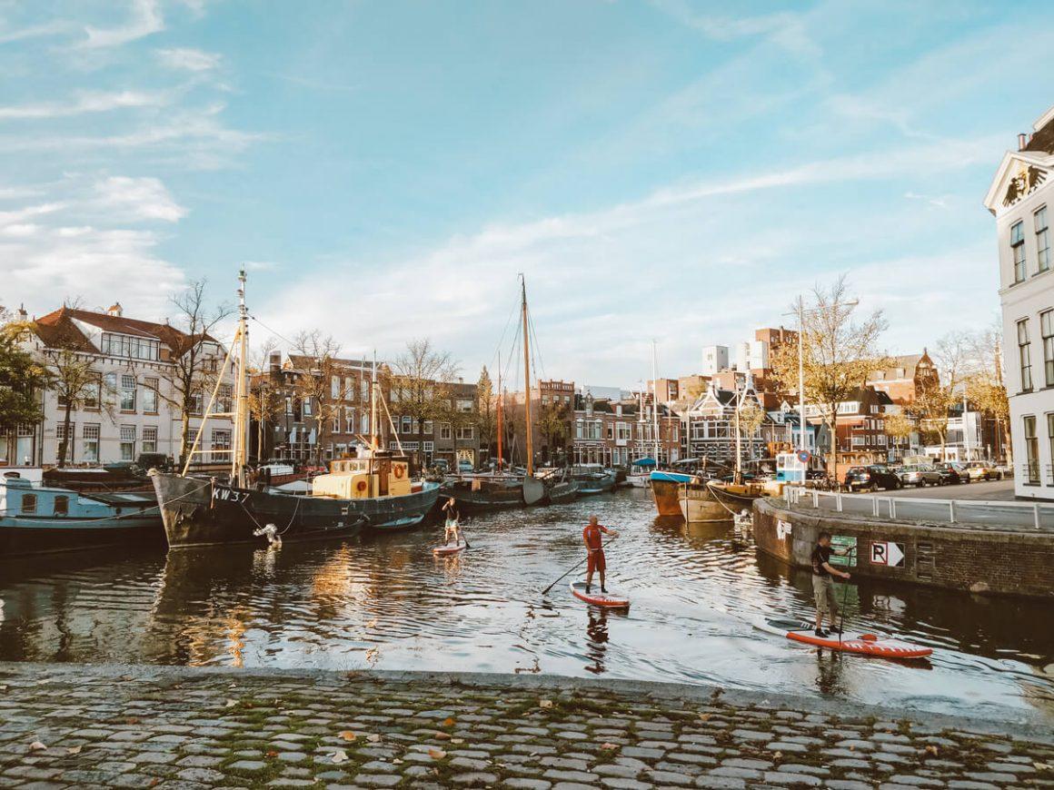 suppen in haven Groningen