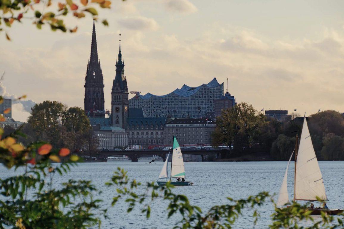 Hamburg aan het water