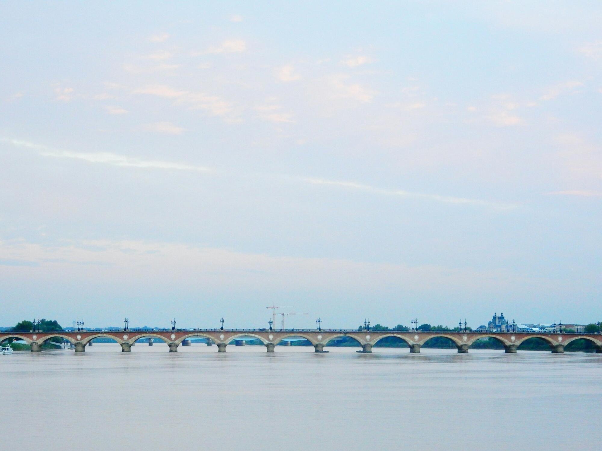 De Garonne in Bordeaux