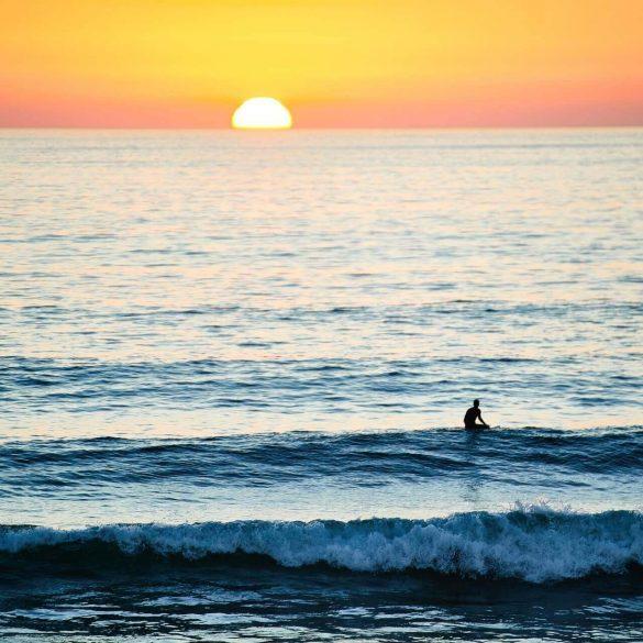 Hossegor zee surfer
