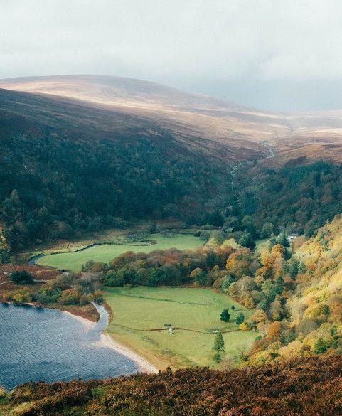 Wicklow Mountains Vikings landschap