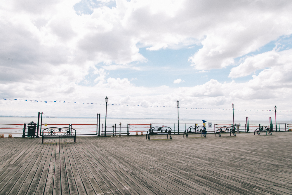 End of the Southend-on-sea pier