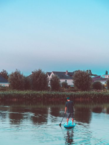 Stand up paddle in Groningen