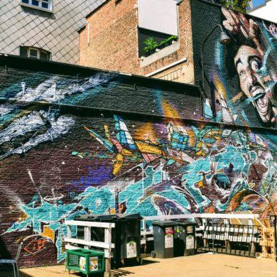 Streetart project jongerencentrum KavKa