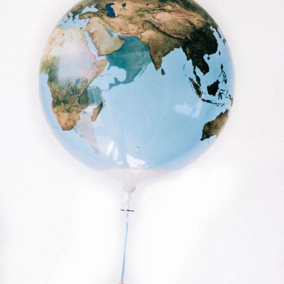 Op wereldreis