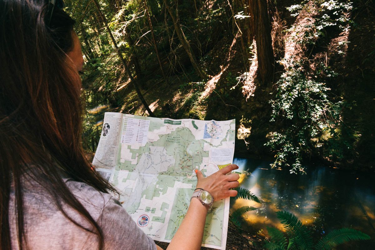 Landkaart bekijken