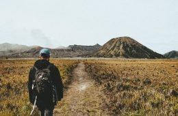 de Bromo vulkaan beklimmen
