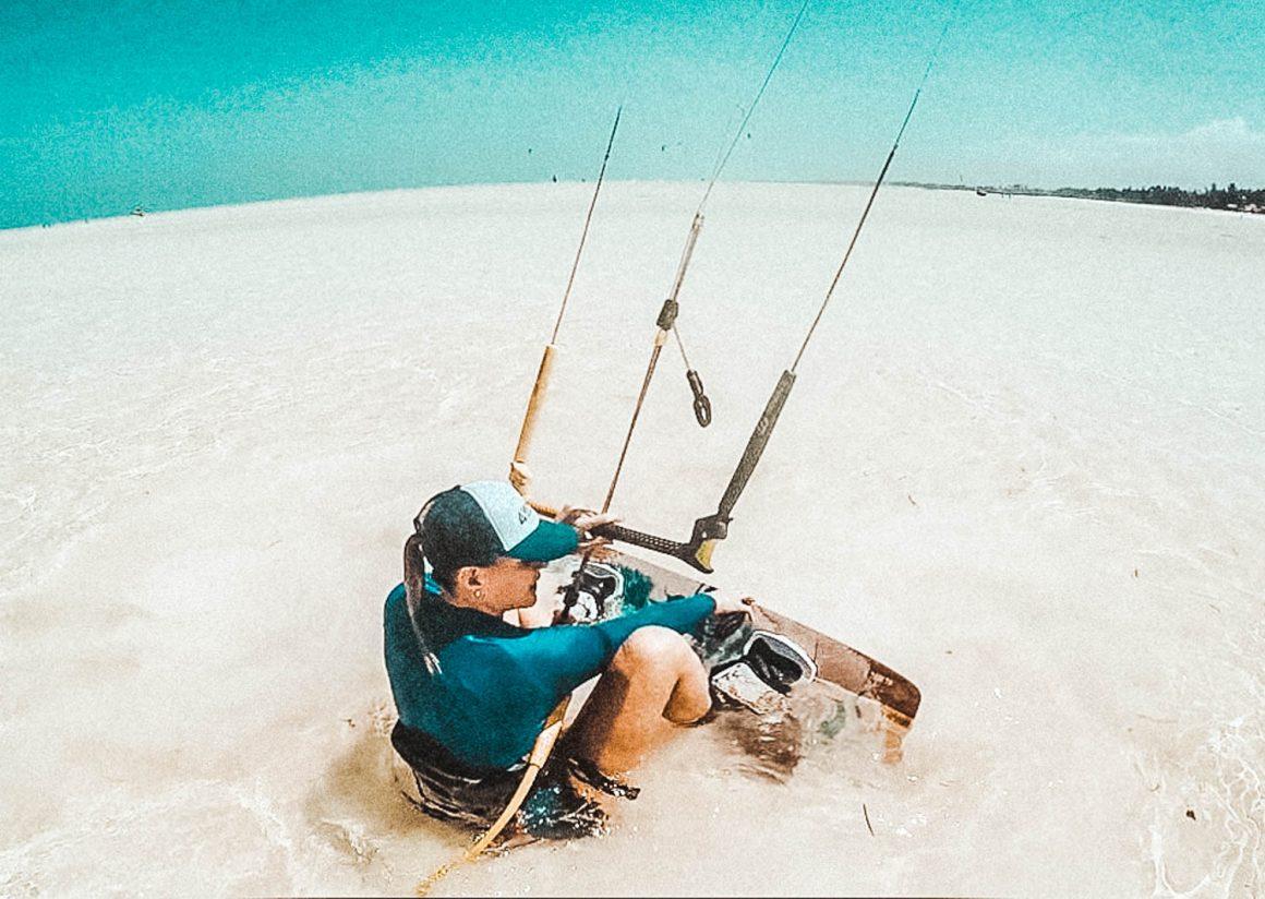 Kitesurfster Zanzibar