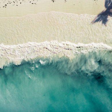 zanzibar kiten droneshot