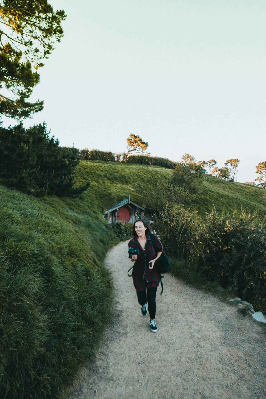 In Hobbiton lopen