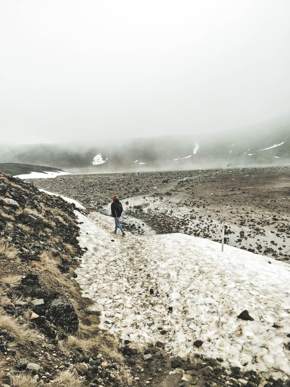 Sneeuw Tongariro