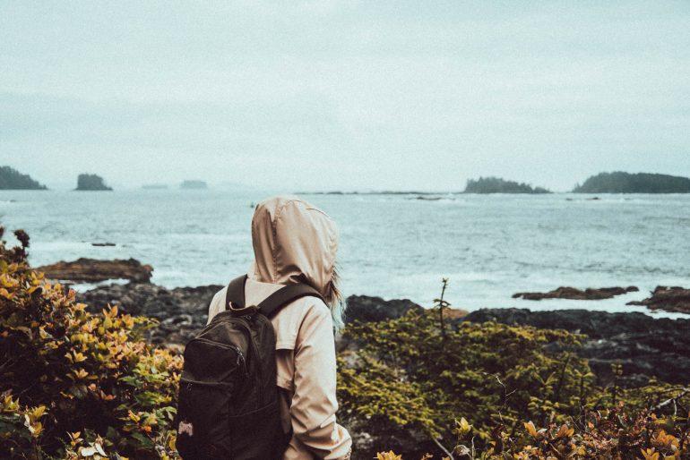 backpacker in Canada