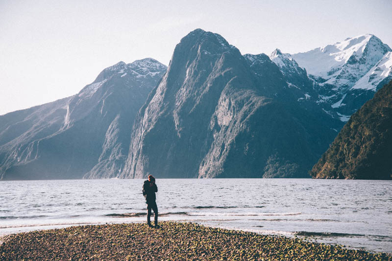 Lone Drifters reisblogger bij Milford Souns