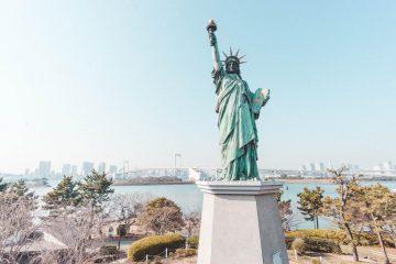 vrijheidsbeeld tokyo