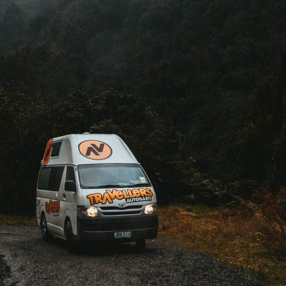 Route door Nieuw-Zeeland