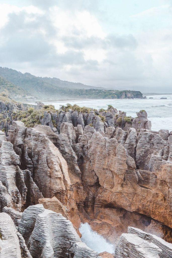 Pannenkoeken rotsen Nieuw-Zeeland