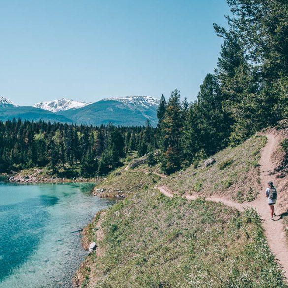 wereldreis fiv lakes canada