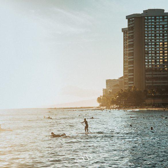 Surfen op Hawaii