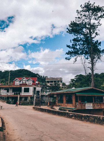 Sagada straat Filipijnen
