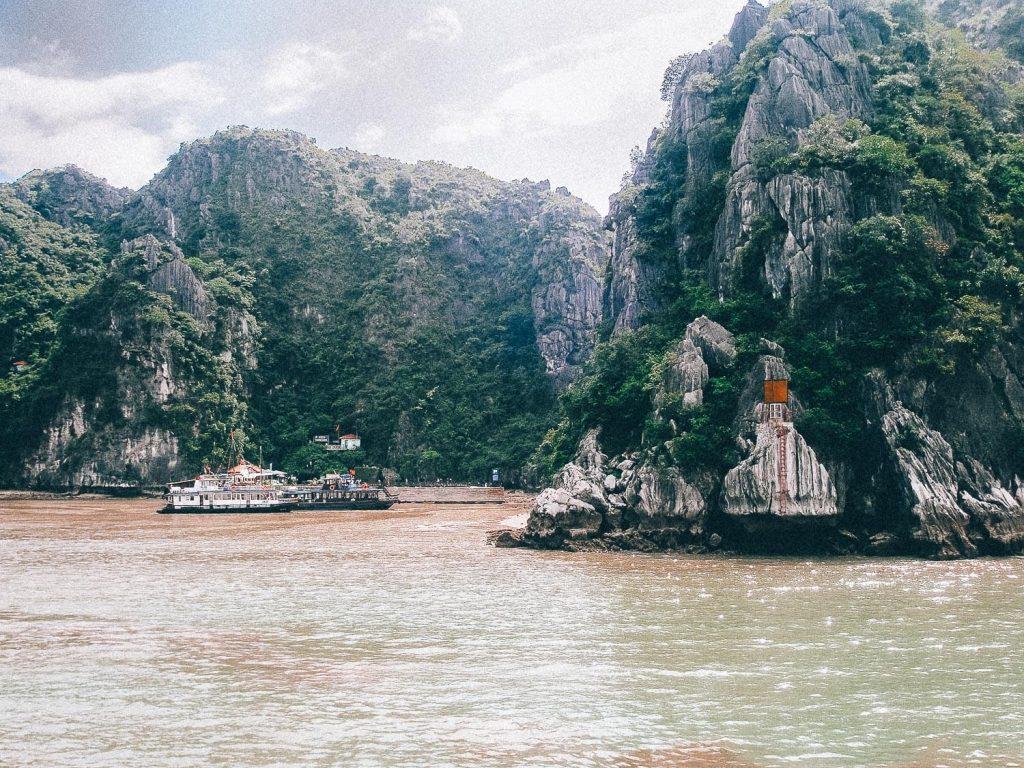 Halong Bay met boten