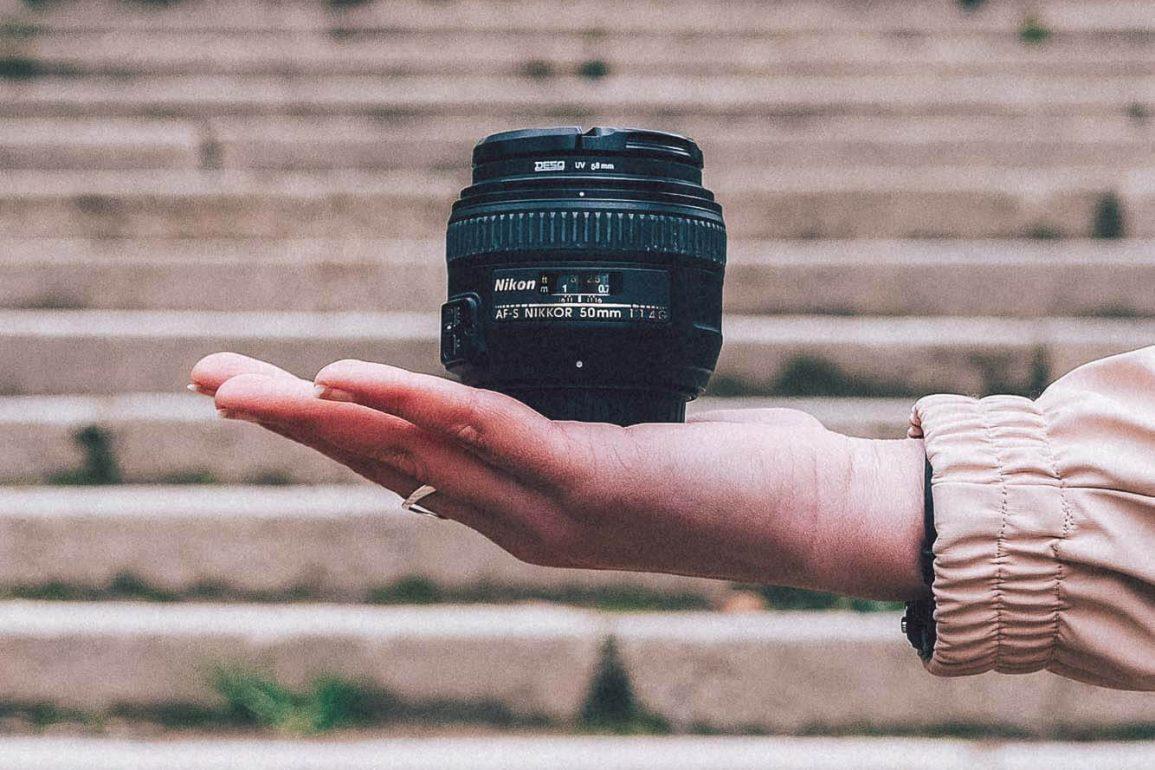 50mm-lens van Nikon