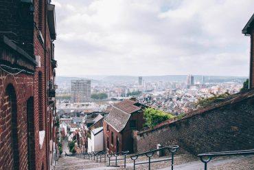 uitzicht Luik Montagne de Bueren