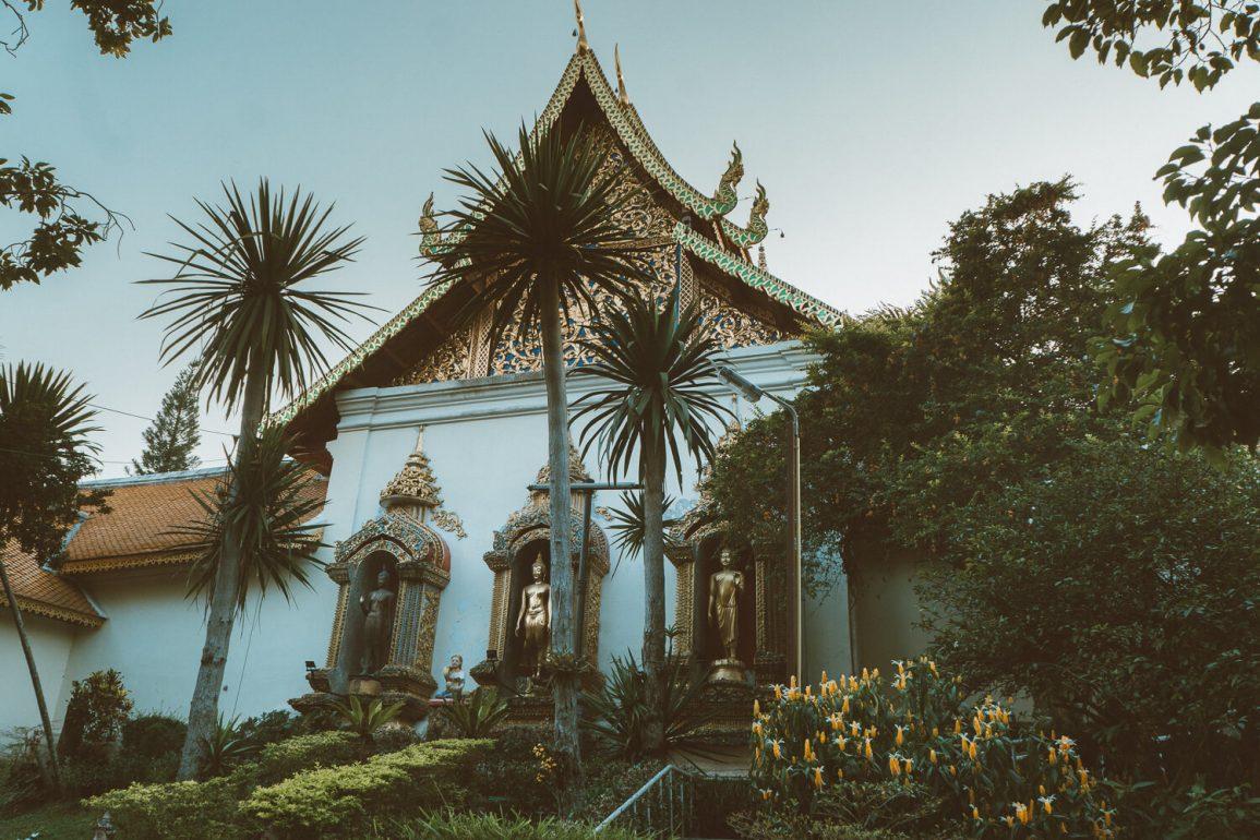 tempels in Chiang Mai