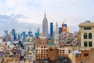 Hotels in New York en skyline