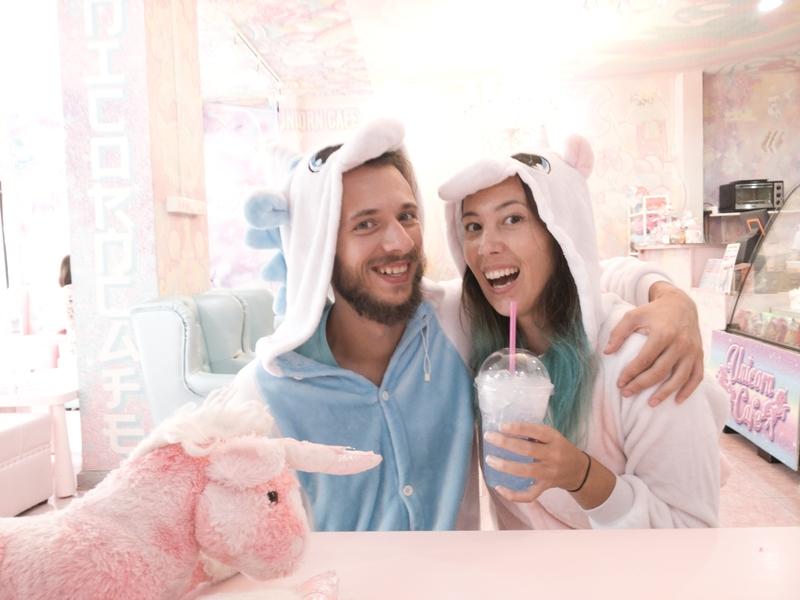 Drankje in Unicorn Cafe