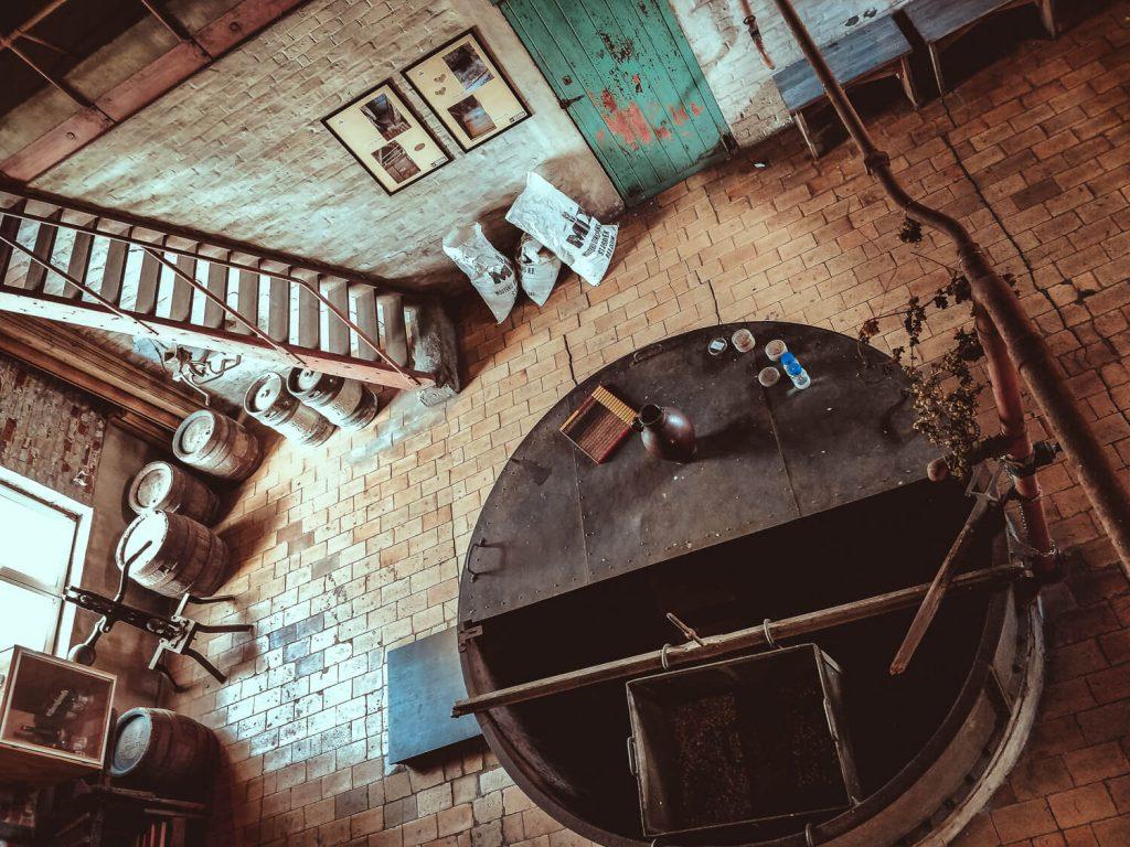 bovenuitzicht brouwerij de kroon belgie