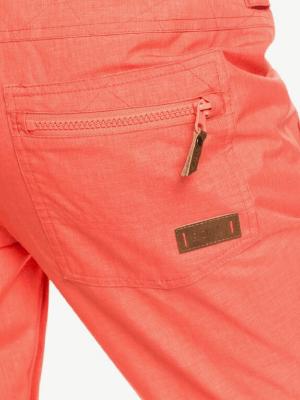 skibroek oranje achterkant