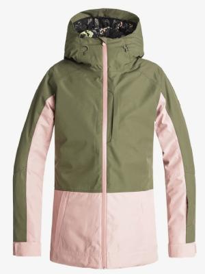 Skijas groen roze