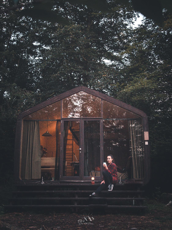Slapen voor een cabin