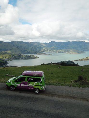 Jucy elektrische camper Nieuw-Zeeland
