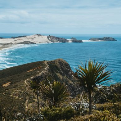 kust van Cape Reinga