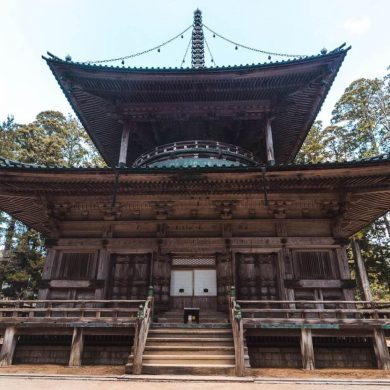 Tempel in Japan Koya-San