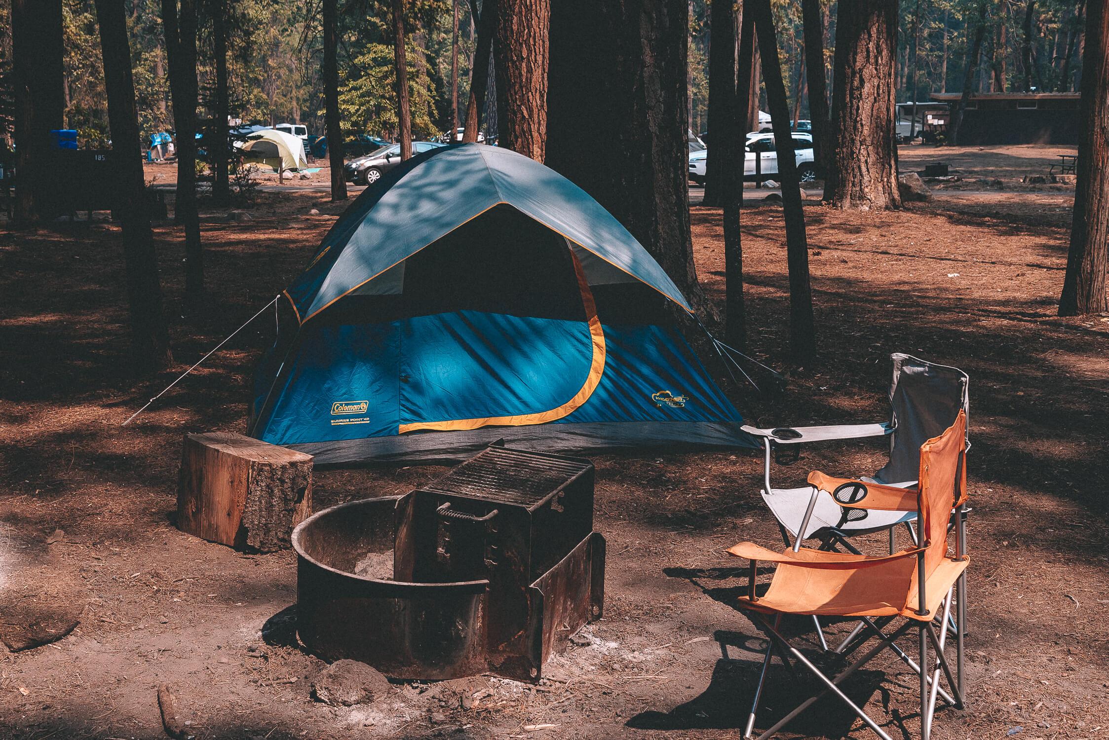 Lone Drifters | Overnachten bij Upper Pines Campground ...