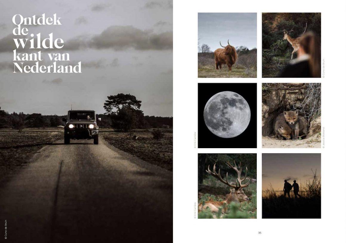 Inkijkexemplaar boek Verliefd op Nederland