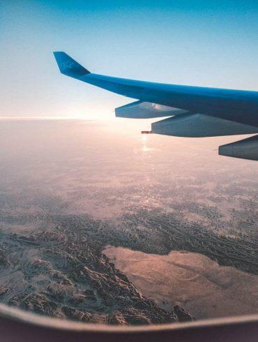 Vliegtuig plaatje met alaska