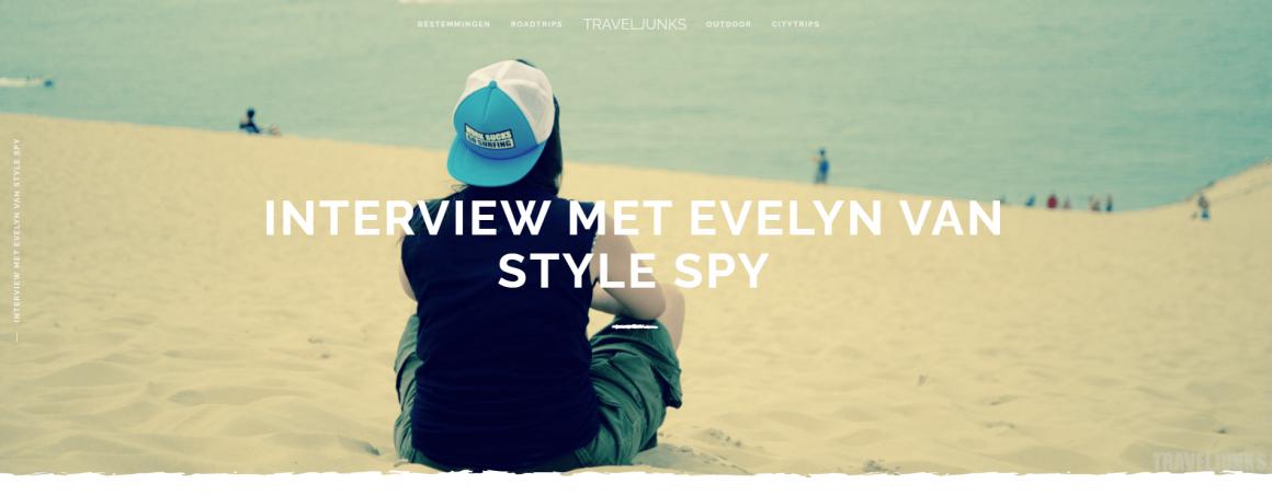 Screenshot interview op website traveljunk