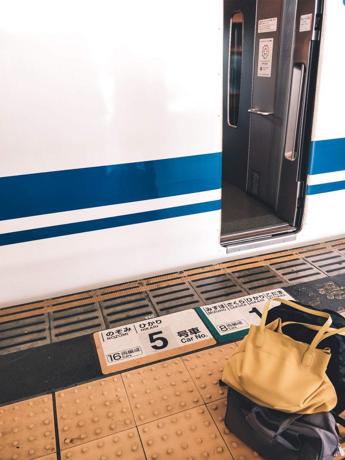 Japan Railpass nummers station