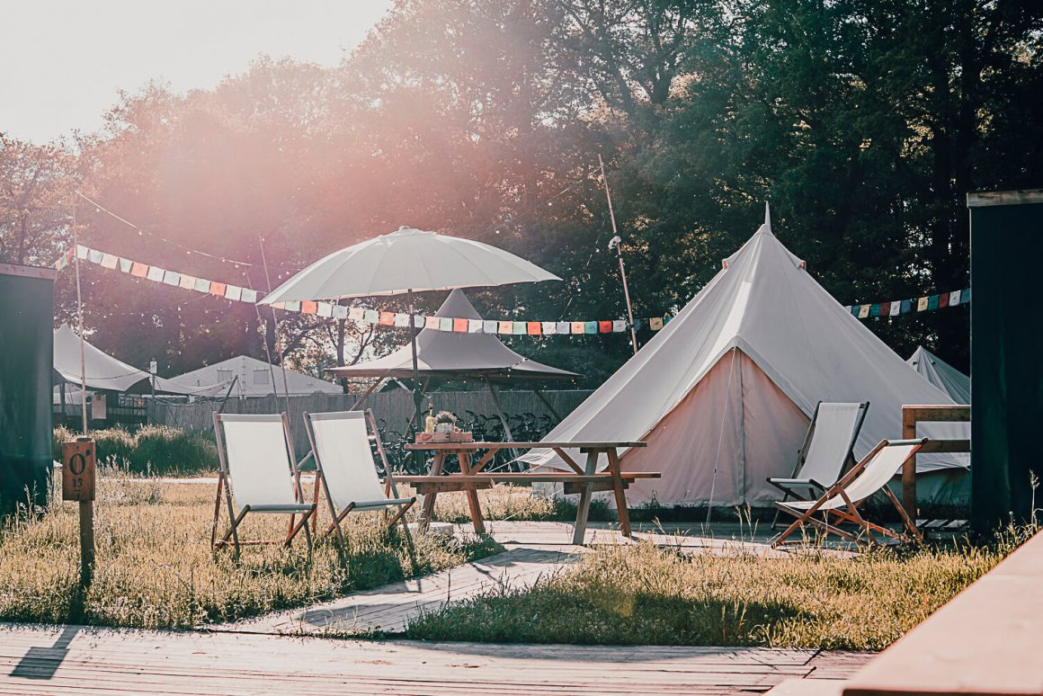 East Nomads tent