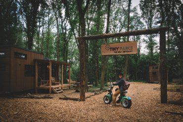 Tiny Parks ingang Drenthe